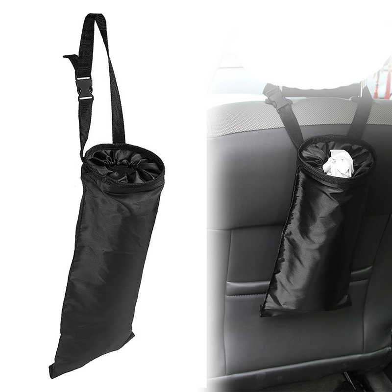 Car Vehicle Back Seat Headrest Litter Trash Garbage Bag Storage Packbag