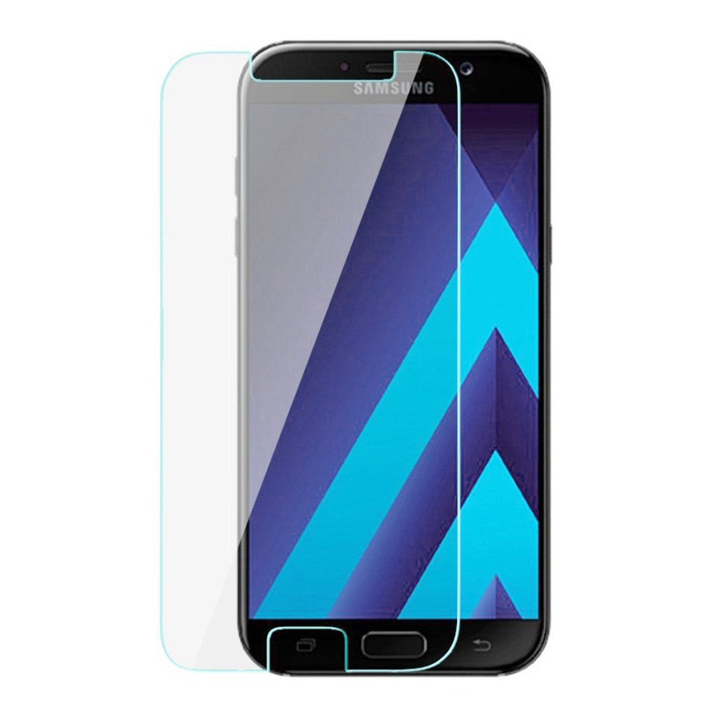 Thin HD 9H Anti-scratch Bubble Free Tempered Glass Screen Protector for Samsung Galaxy A7 2017/A720