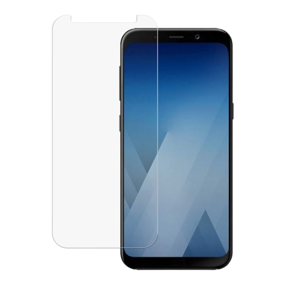 0.3mm Ultra-thin 9H Hardness HD Anti-fingerprint Tempered Glass Screen Protector for Samsung Galaxy A8 PLUS 2018