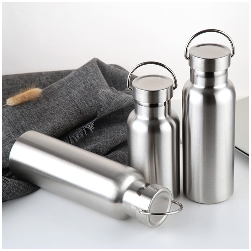 500ML Full Stainless Steel Water Flask Portable Outdoor Double Wall Vacuum Insulated Bottle