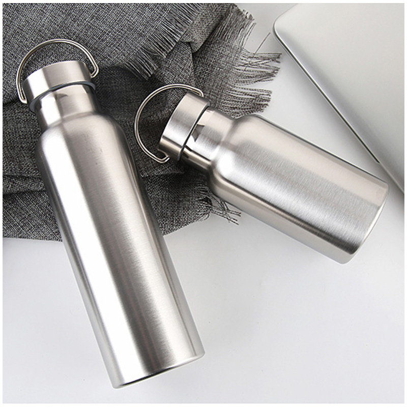 600ML Full Stainless Steel Water Flask Portable Outdoor Double Wall Vacuum Insulated Bottle