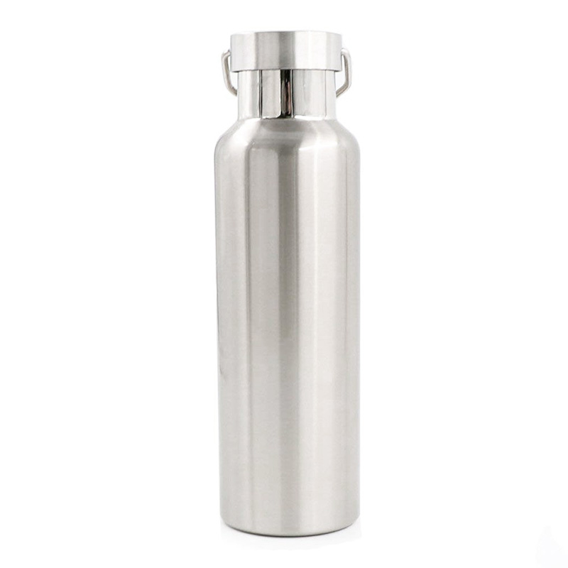 750ML Full Stainless Steel Water Flask Portable Outdoor Double Wall Vacuum Insulated Bottle