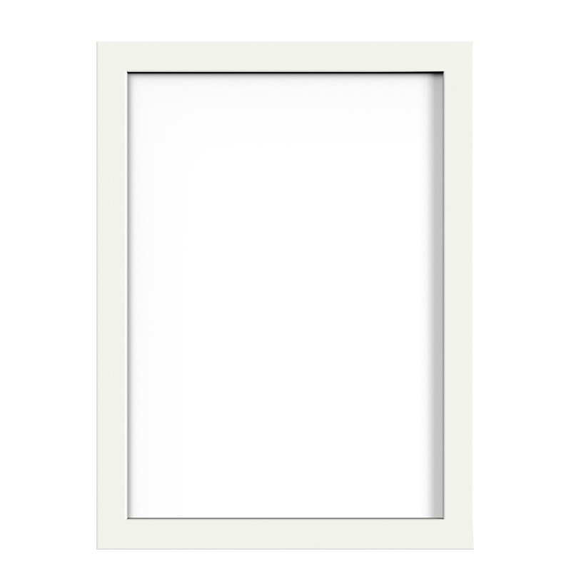 6inch Picture Photo Frames Wall Poster Wood Decor Frame for Home Office - White