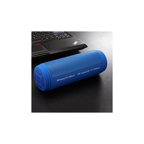 T3 Wireless Bluetooth Speaker Portable Waterproof Music Box for Outdoor - Blue