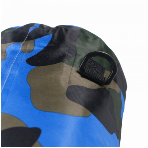 20L Camouflage Waterproof Bag Compression Sack Storage Dry Pouch for Boating Drifting Beach - Royal Blue