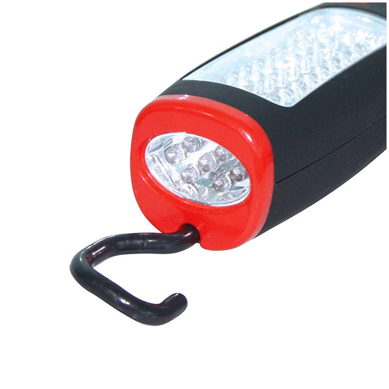 Portable Magnet 37LED Flashlight Night Light Lamp with Hook for Outdoor Camping