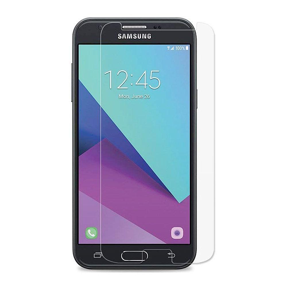 Samsung Galaxy J3 Emerge Anti Scratch Fingerprint Tempered Glass Screen Protector