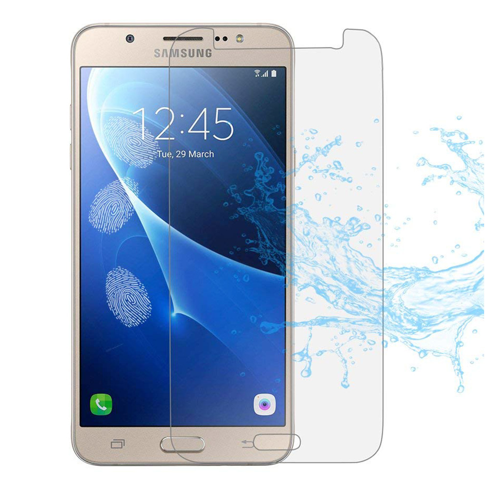 Thin 2.5D Edge 9H Hardness Anti Scratch Tempered Glass Screen Protector for Samsung Galaxy J5 2016