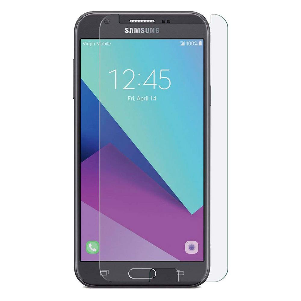 Samsung Galaxy J7V Tempered Glass Anti-Scratch Anti-Fingerprint Screen Protector Film