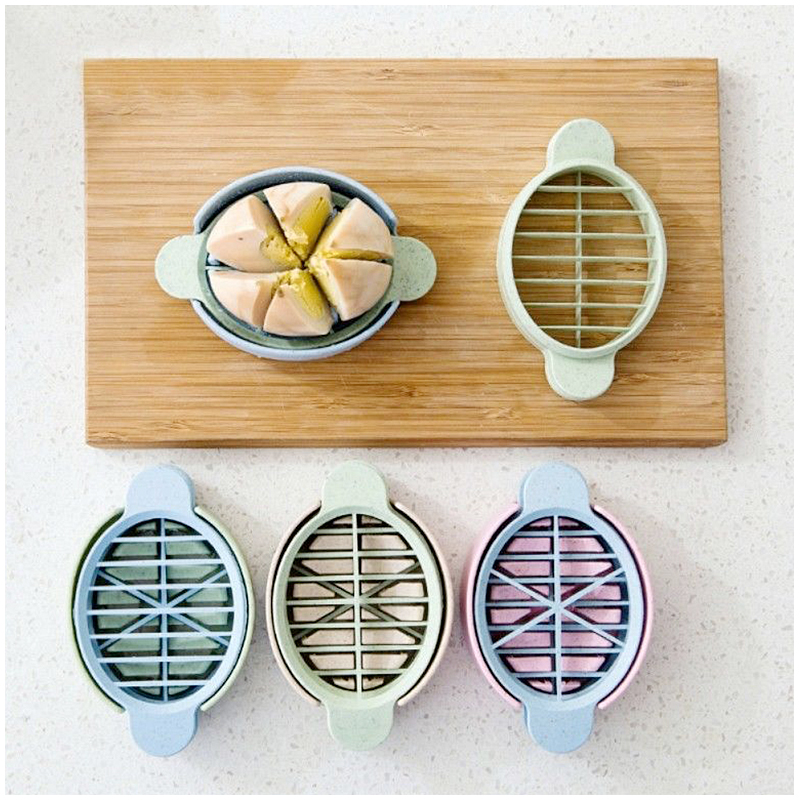 3in1 Multifunction Egg Slicer Cutter Sectioner Kitchen Tools - Pink