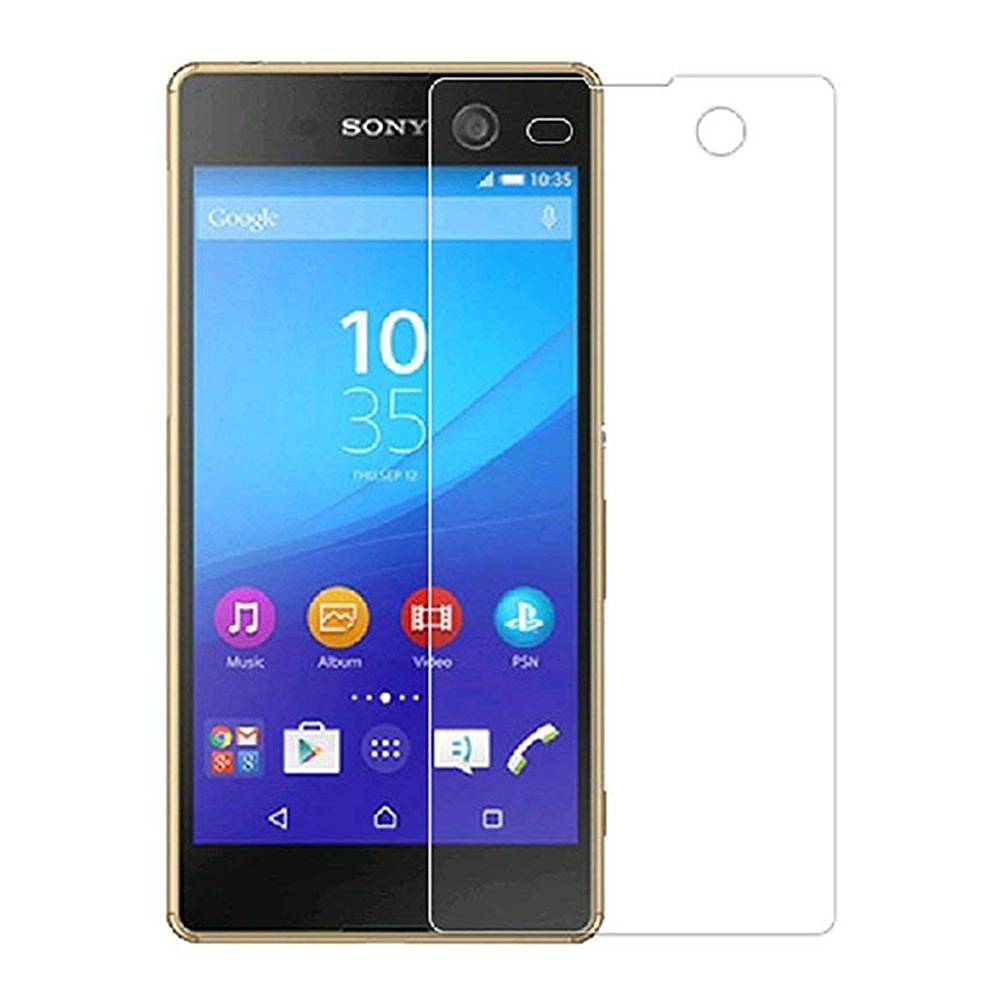 Sony Xperia M5 Screen Protector Clear 9H Touch Tempered Glass