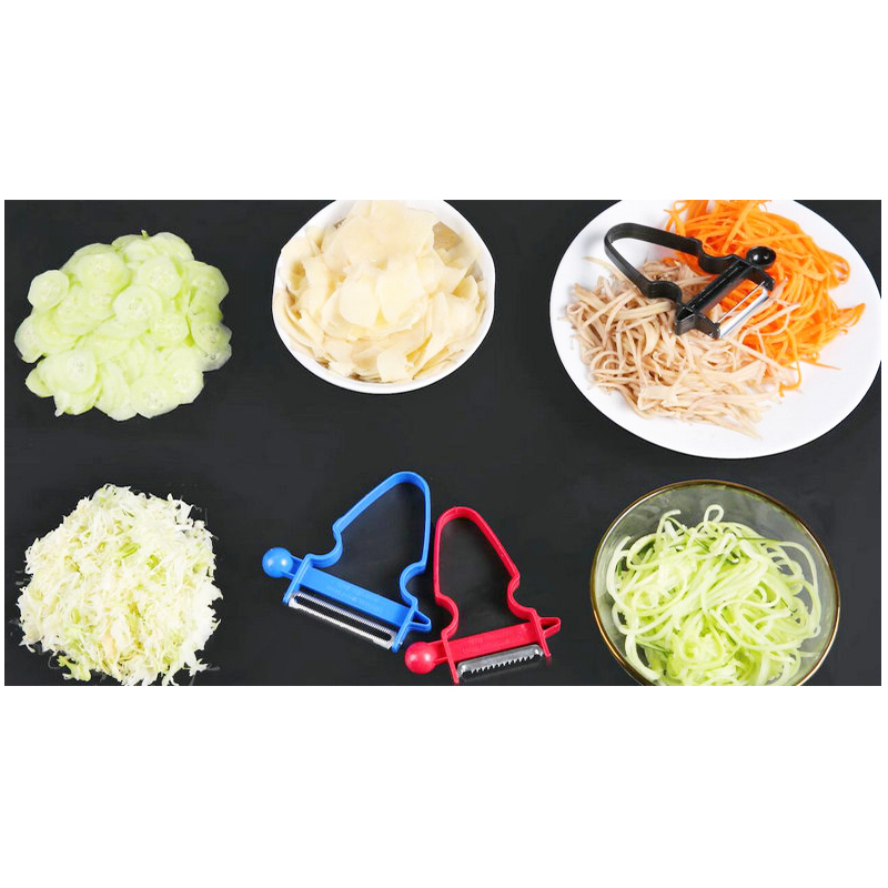 3PCs/Set Magic Peeler Slicer Shredder Multifuction Vegetable Fruit Potato Cutter Kitchen Tools