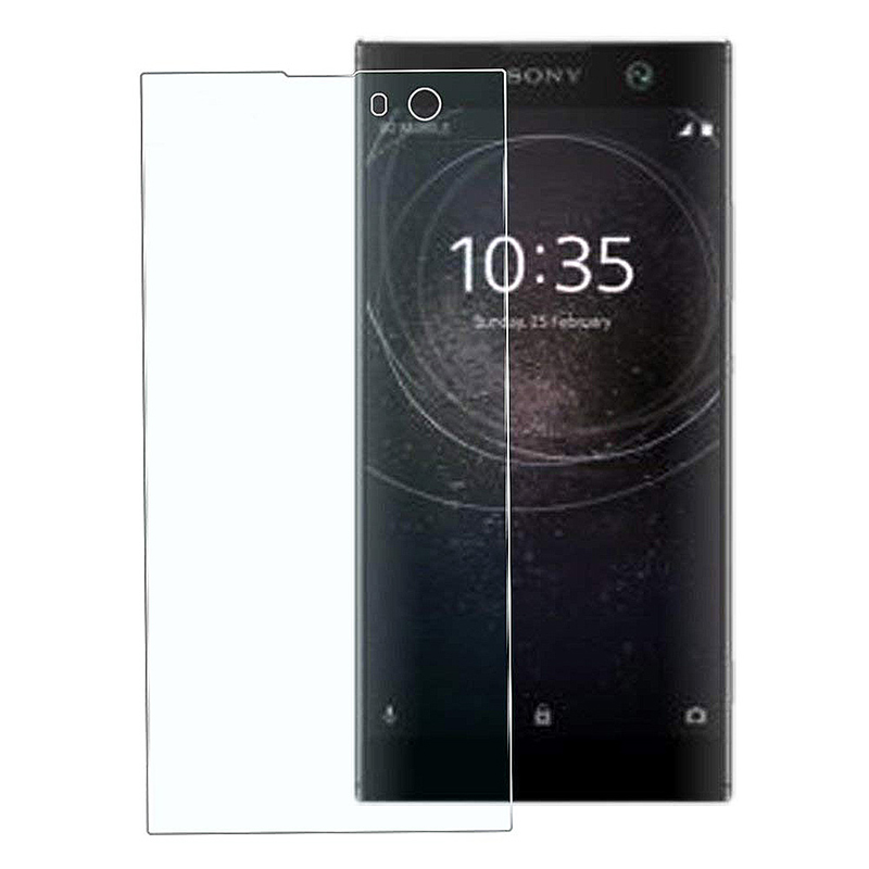 Full Coverage Anti Scratch Tempered Glass Screen Protector for Sony Xperia XA2