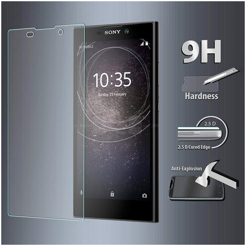 Scratch Resistant Bubble Free Tempered Glass Screen Protector for Sony Xperia L2