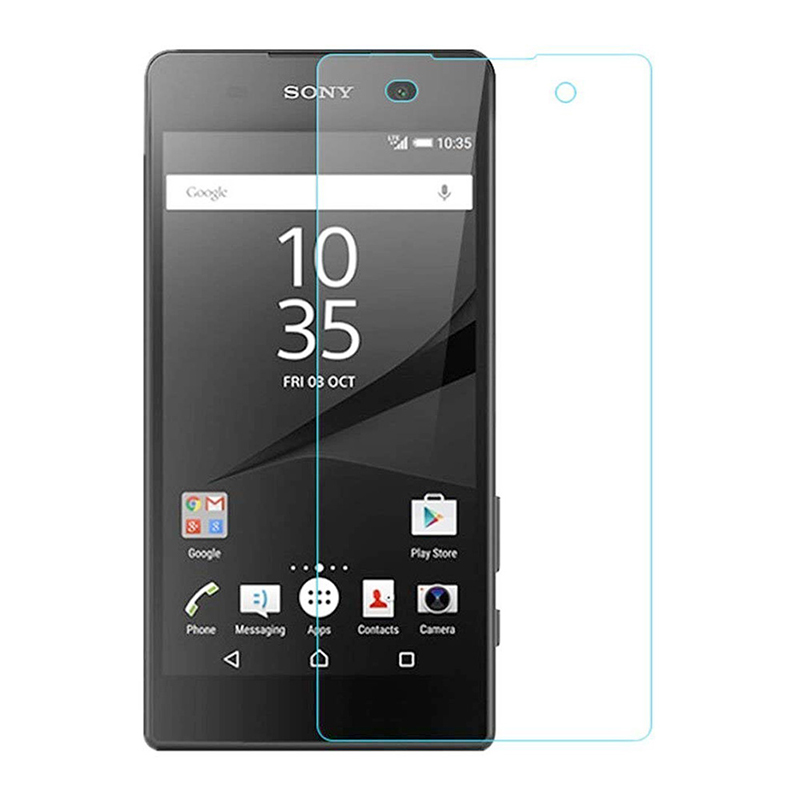 0.3mm 2.5D 9H Scratch Resistant Tempered Glass Screen Protector for Sony Xperia E5