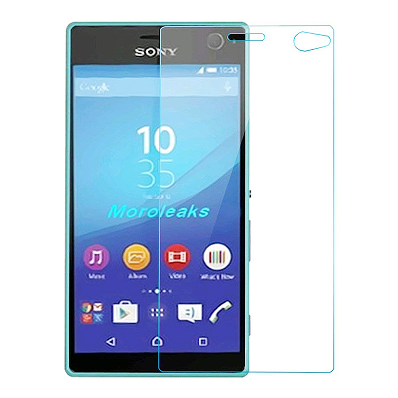 Ultra Thin 9H Hardness 2.5D Round Edge Tempered Glass Screen Protector for Sony Xperia C4