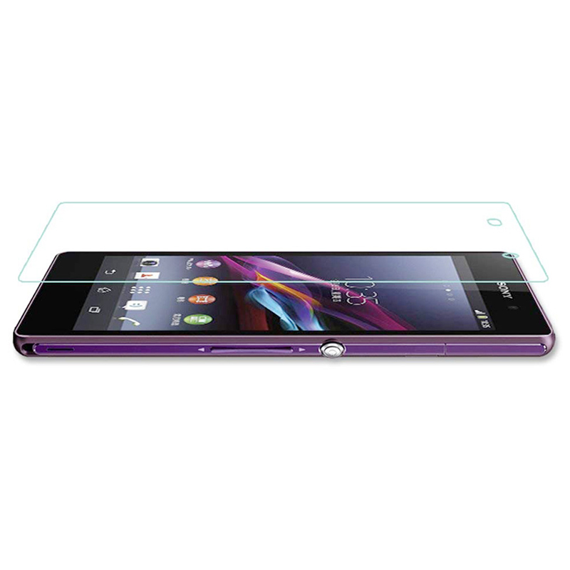 HD Clear 2.5D Curved 9H Anti-Scratch Tempered Glass Screen Protector Film for Sony Xperia Z2