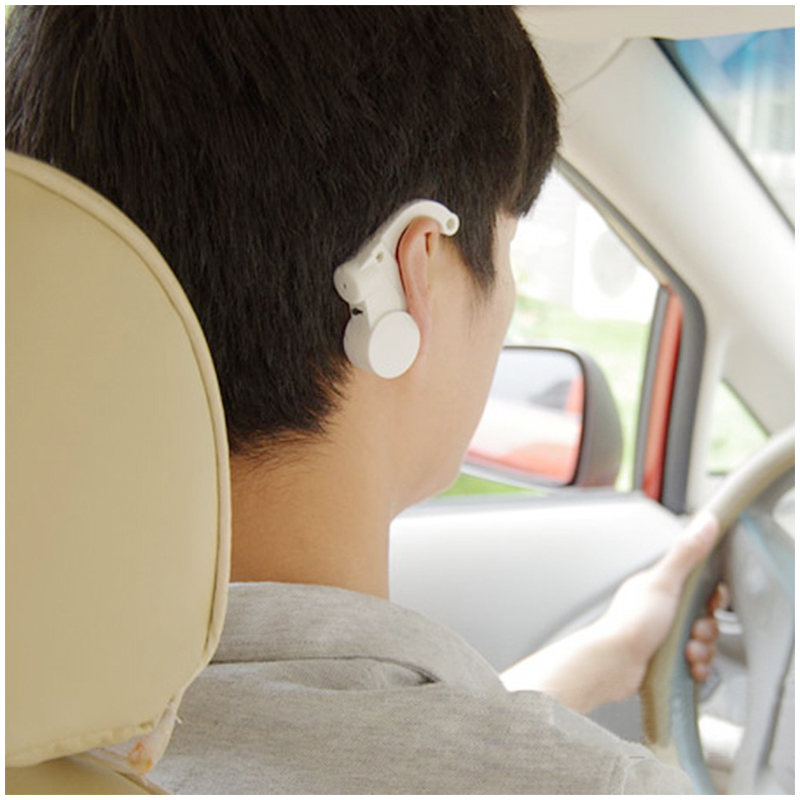 Car Driver Safe Device Anti Sleep Drowsy Keep Awake Alarm Alert - White