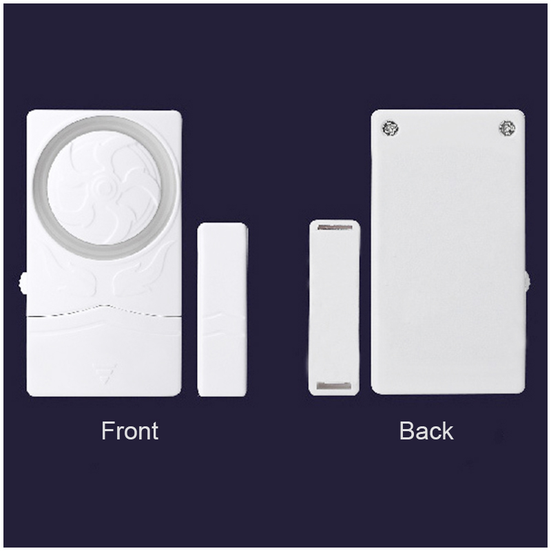 SF19R Wireless Security Door Window Open Alarm Magnetic Sensor Burglar Alert Warning System