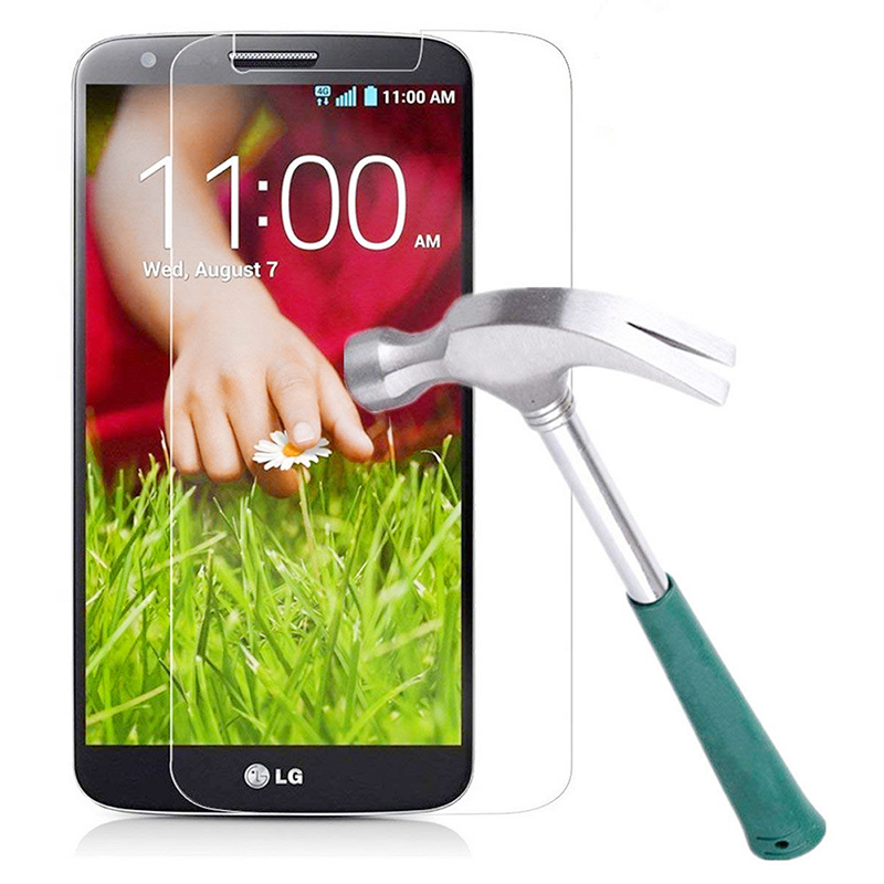 LG G2 Tempered Glass 0.33mm 2.5D Edge 9H Hardness Anti Scratch Screen Protector