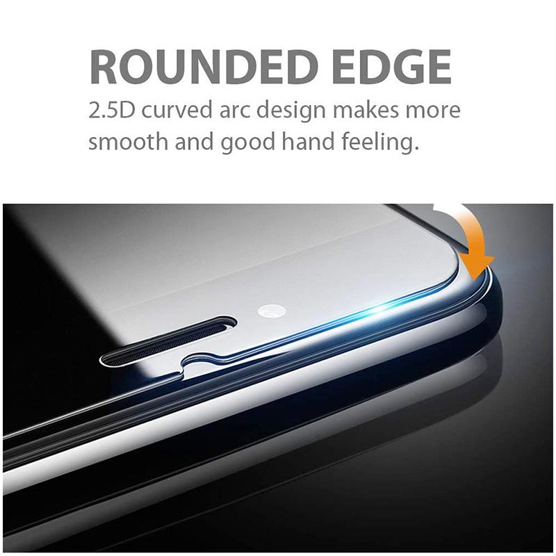 9H Hardness Anti Scratch Anti-Fingerprint Tempered Glass Screen Protector for LG K8 2017 / LV3