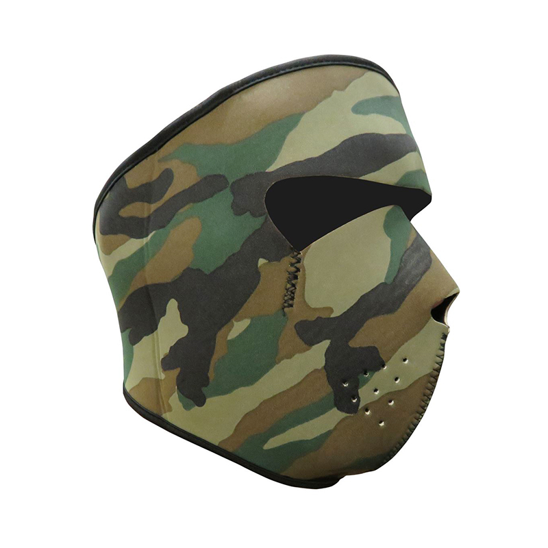 Unisex Windproof Full Face Mask Motorcycle Skiing Snowboarding Bike Facial Protector - Camouflage