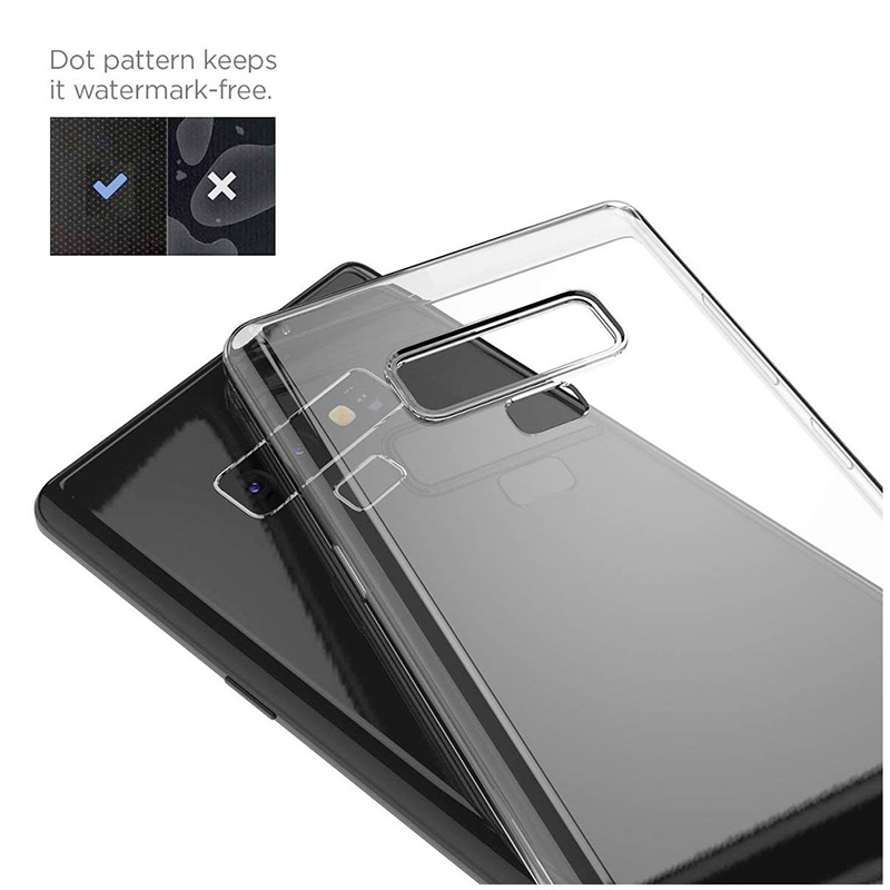 Ultra-slim Clear Soft Silicone TPU Anti-Scratch Shockproof Case Back Cover for Samsung Note 9