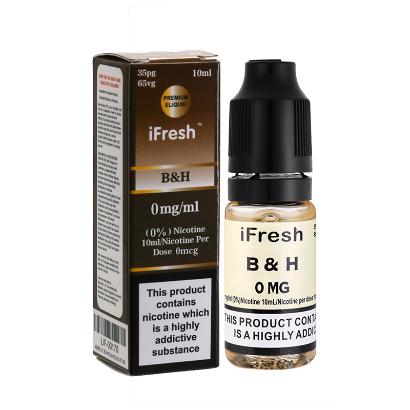 Ifresh BH Sensation E Liquid-10ml-0mg
