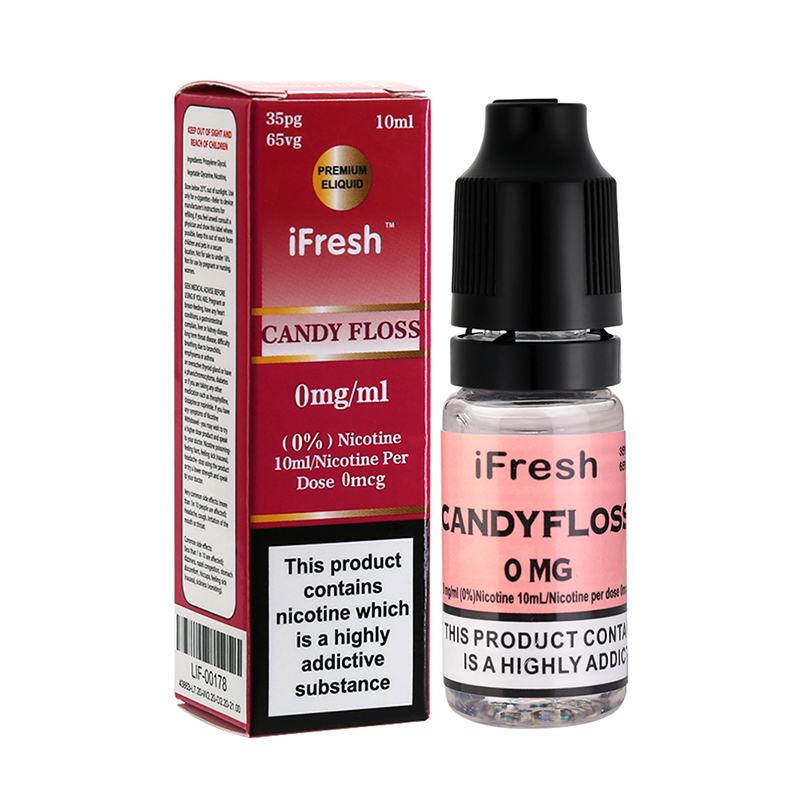 Ifresh Candy Floss Sensation E Liquid-10ml-0mg