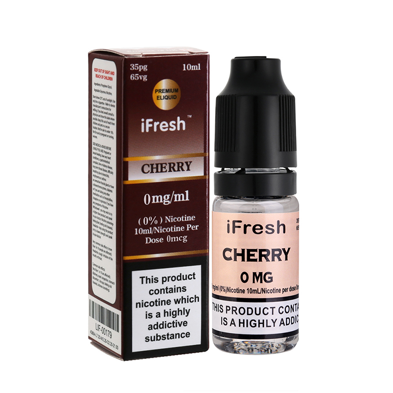 Ifresh Original Cherry E Liquid-10ml-0mg