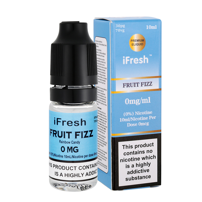 Ifresh Fruit Fizz Sensation E Liquid-10ml-0mg