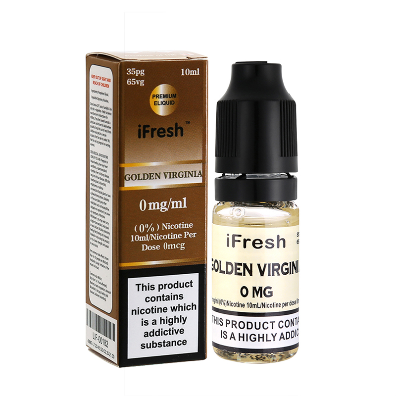 Ifresh Golden Virginia E Liquid-10ml-0mg