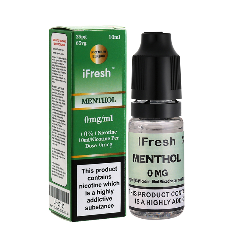 Ifresh Original Menthol E Liquid-10ml-0mg