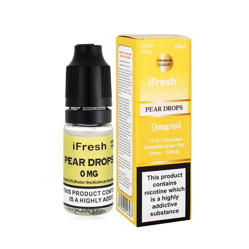 Ifresh Pear Drops Sensation E Liquid-10ml-0mg