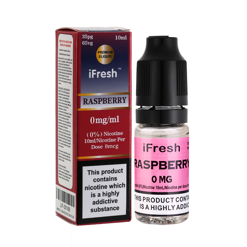 Ifresh Raspberry Premium E Liquid-10ml-0mg