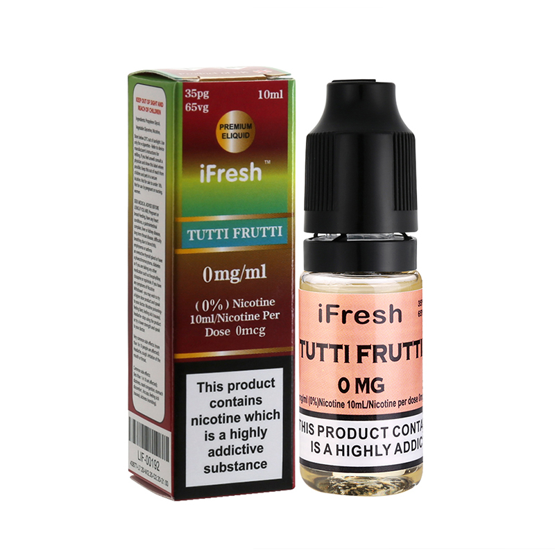 Ifresh Original TuttiFrutti Sensation E Liquid-10ml-0mg
