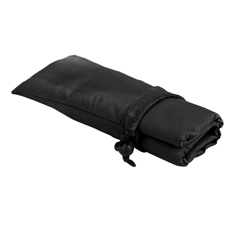 1.4x2M Waterproof Portable Outdoor Folding Picnic Mat Camping Mattress Beach Mat - Black