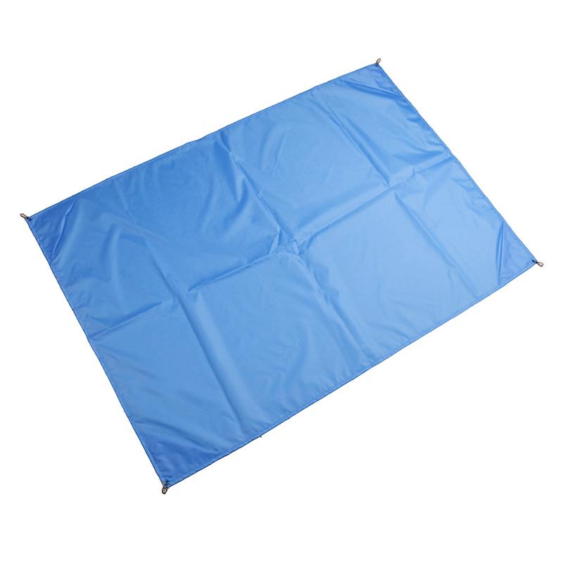 1.4x2M Waterproof Portable Outdoor Folding Picnic Mat Camping Mattress Beach Mat - Blue