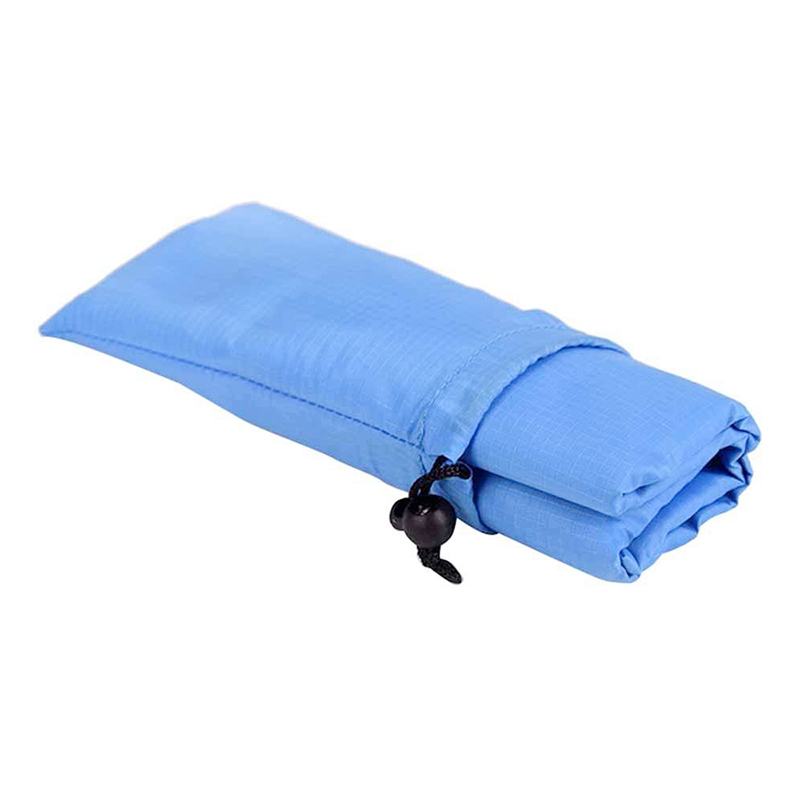 1.4x2M Waterproof Portable Outdoor Folding Picnic Mat Camping Mattress Beach Mat - Blue