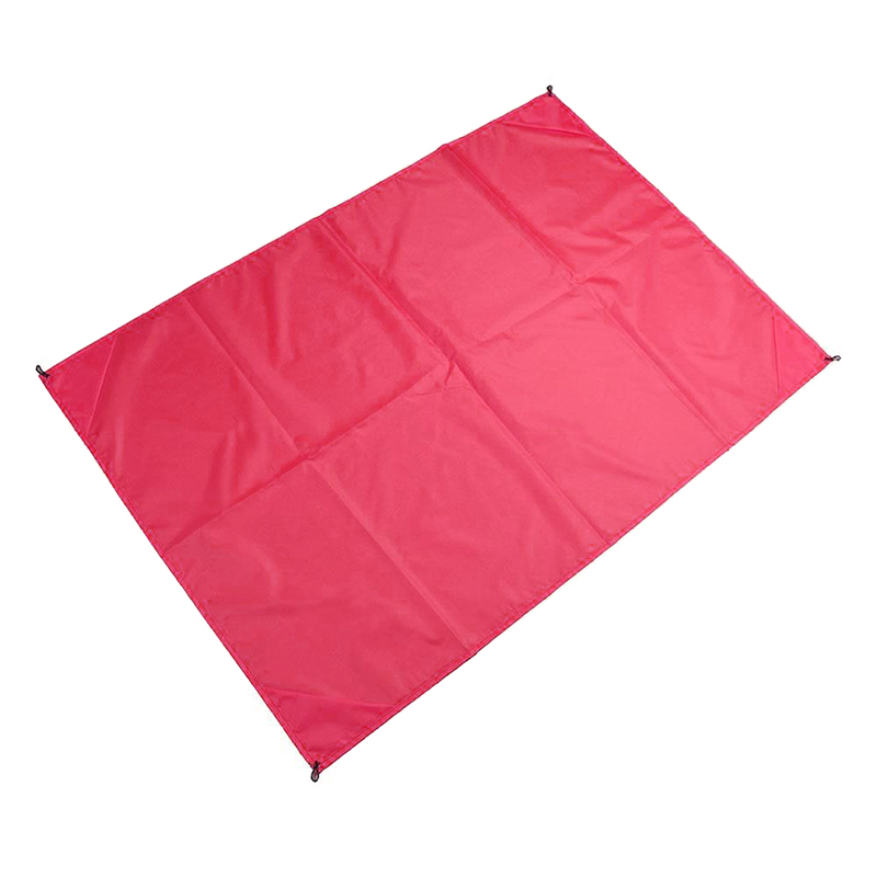 1.4x2M Waterproof Portable Outdoor Folding Picnic Mat Camping Mattress Beach Mat - Pink