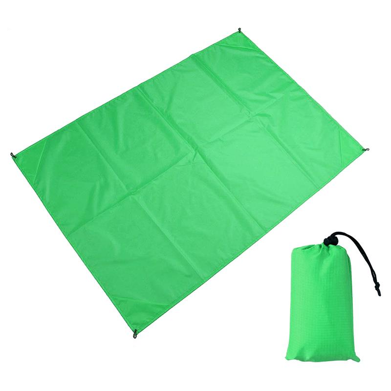 1.4x2M Waterproof Portable Outdoor Folding Picnic Mat Camping Mattress Beach Mat - Green