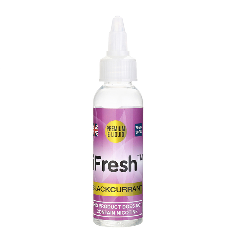 Ifresh Nicotine Free E Liquid-Blackcurrant Flavours-50ml
