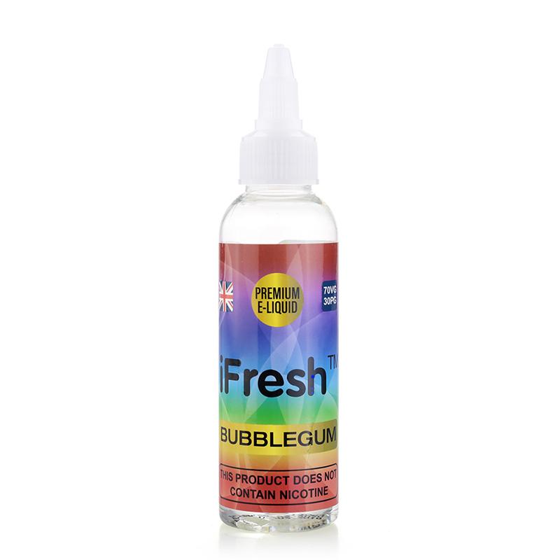 Ifresh Nicotine Free E Liquid-BubbleGum Flavours-50ml