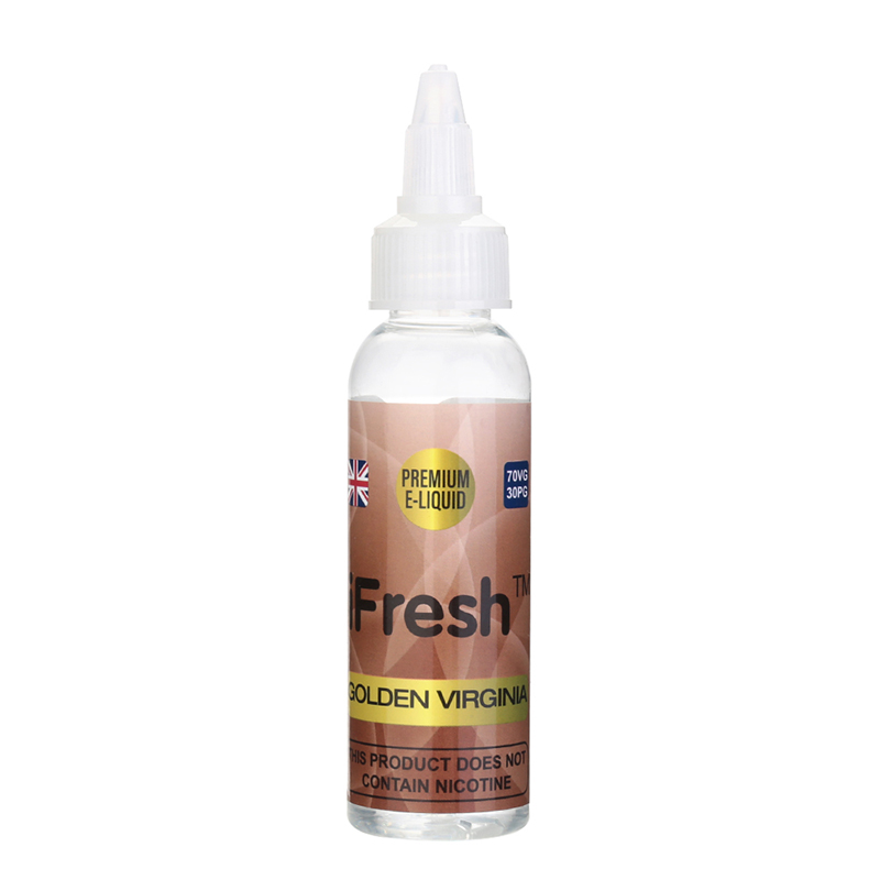 Ifresh Nicotine Free E Liquid-Golden Virginia Flavours-50ml