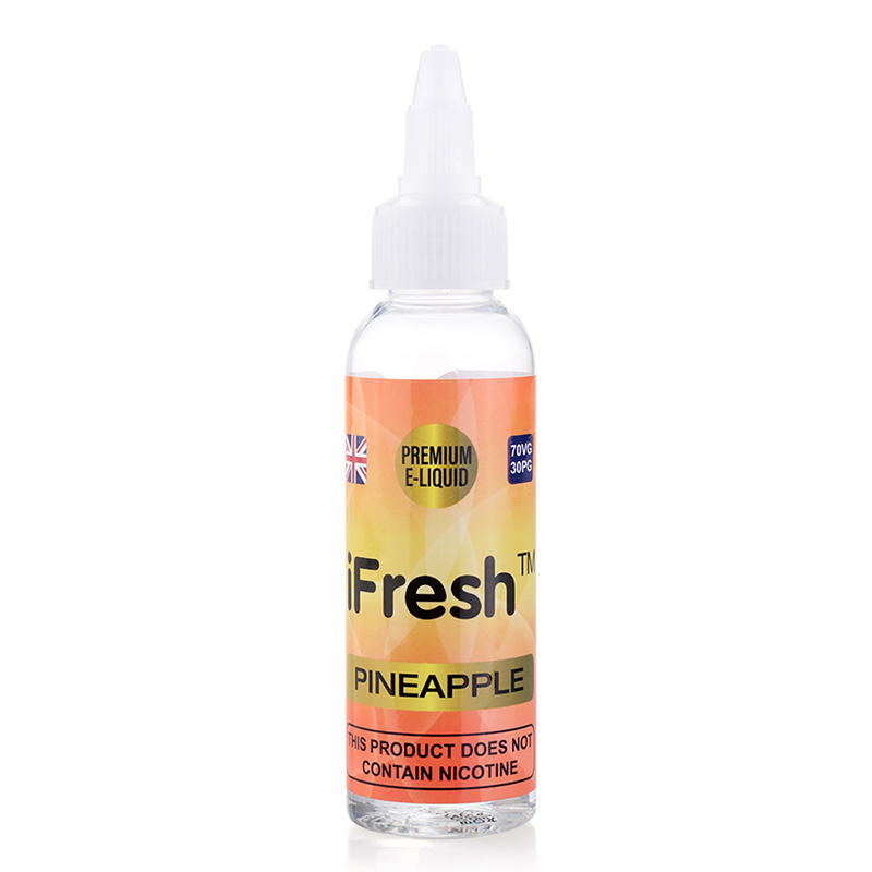 Ifresh Nicotine Free E Liquid-Pineapple Flavours-50ml
