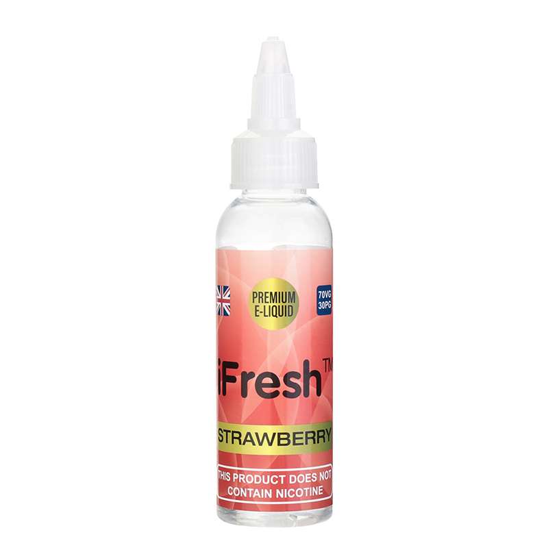 Ifresh Nicotine Free E Liquid-Strawberry Flavours-50ml