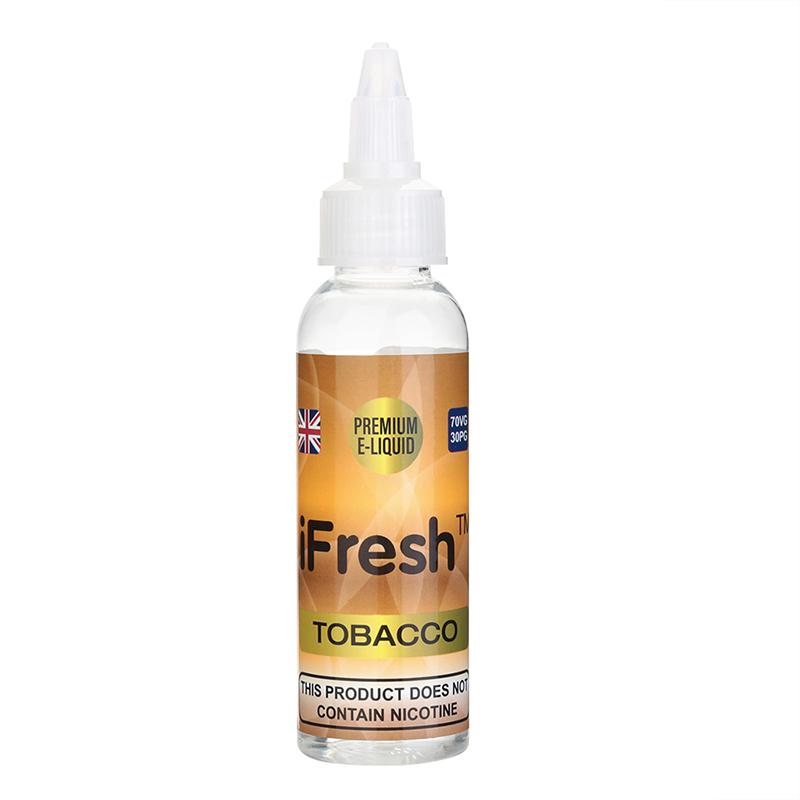 Ifresh Nicotine Free E Liquid-Tobacco Flavours-50ml