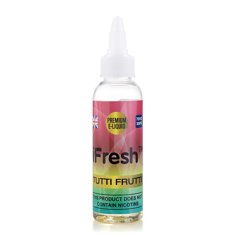 Ifresh Nicotine Free E Liquid-TuttiFrutti Flavours-50ml