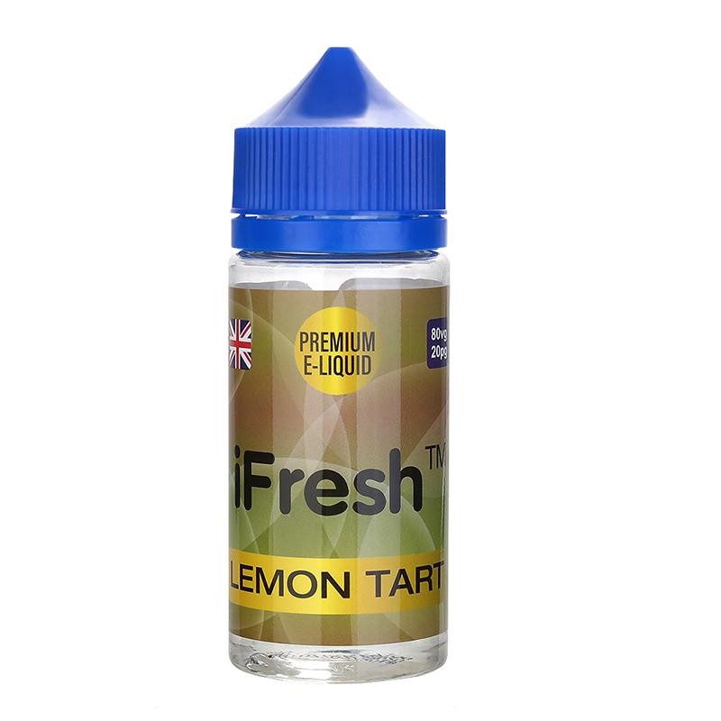 Ifresh E Liquid-Lemon Tart Flavour-0mg-80ml