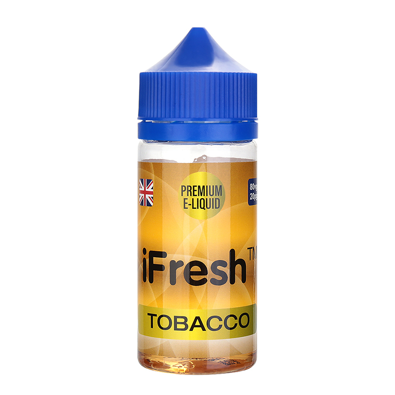 Ifresh E Liquid-Tobacco Flavour-0mg-80ml